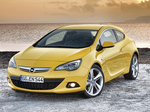 Opel Astra GTC 3d