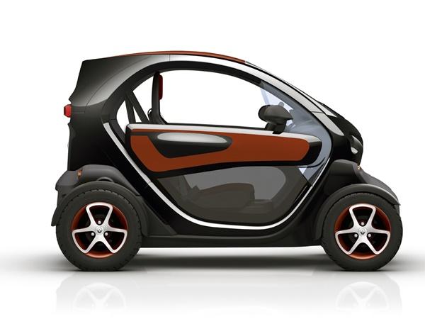 Renault Twizy - intens batterijhuur 12kW aut