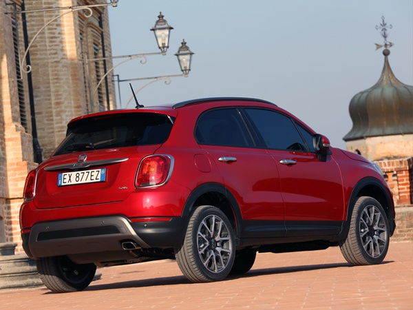 Fiat 500X Cross 1.4t multiair city 103kW dct aut