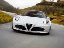 Alfa Romeo 4C Spider 2d