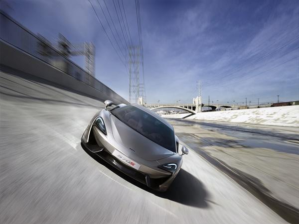 McLaren 570 coupe 3.8t v8 gt 419kW aut