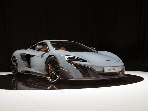 McLaren 675LT coupe