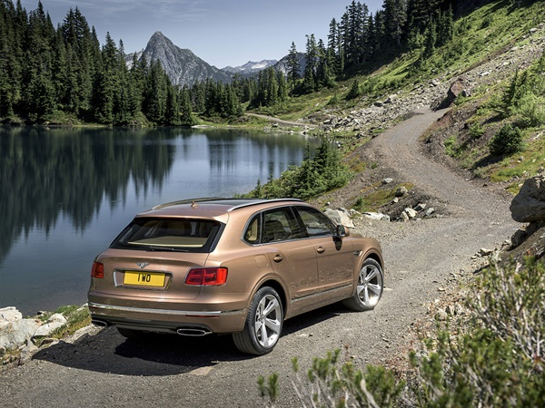 Bentley Bentayga 4.0 v8 404kW aut