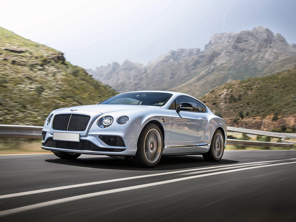 Bentley Continental GT 2d