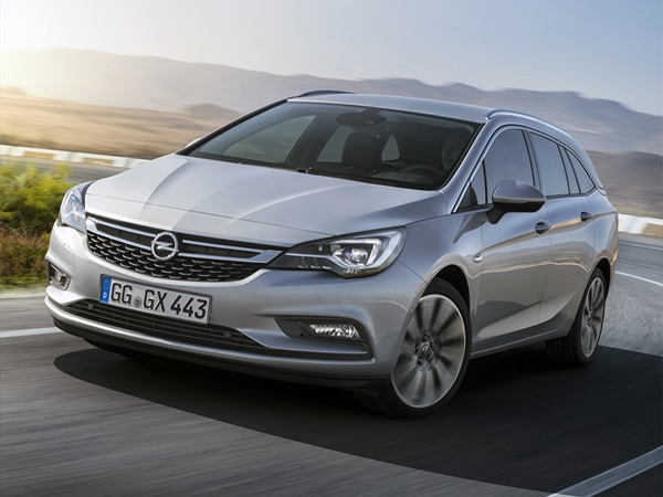 Opel Astra sports tourer 1.4t business+ 110 kW aut