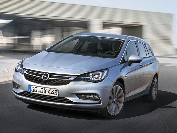 Opel Astra sports tourer 1.6t business executive 147kW