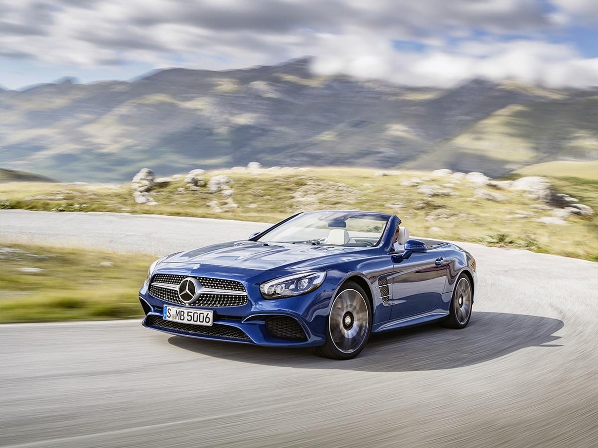 Mercedes-Benz SL-klasse 2d