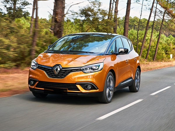 Renault Scénic 1.3tce bose 103kW (NEDC)