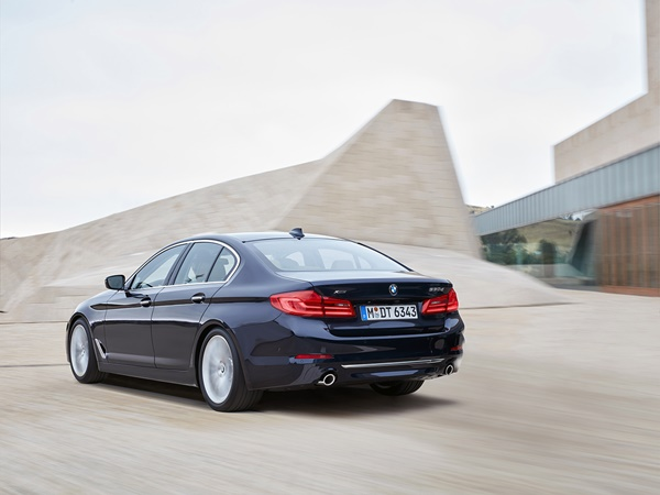 BMW 5-serie 520d efficient dynamics 140kW aut