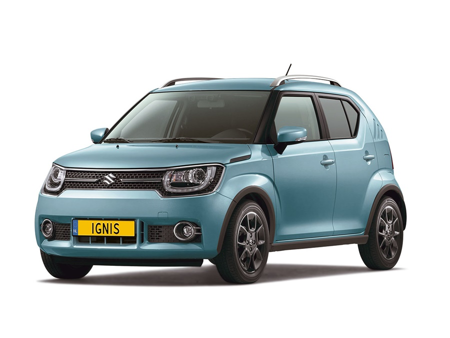 suzuki ignis 1 2 stijl smart hybrid intro. Black Bedroom Furniture Sets. Home Design Ideas