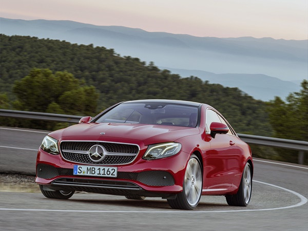 Mercedes E-coupe 450 4matic 270kW 9g-tronic aut