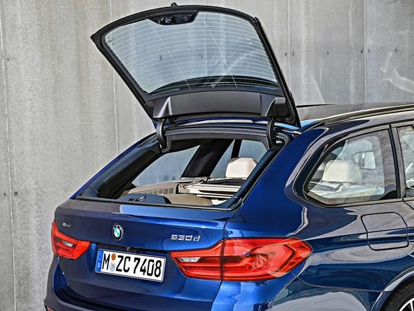 BMW 5-touring 550d m xdrive 294kW aut