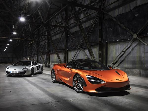 McLaren 720S coupe 4.0 v8 performance 527kW aut