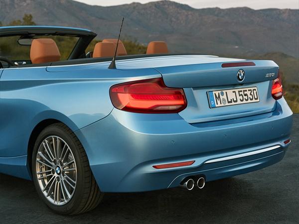 BMW 2-cabrio 218i 100kW aut
