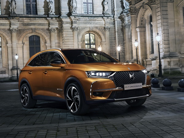 DS DS7 Crossback 1.5hdi performance line 96kW aut