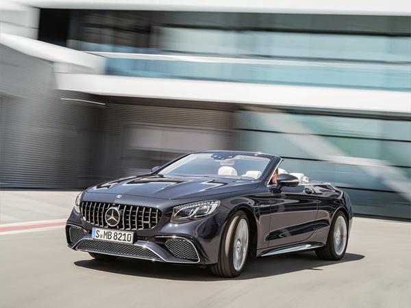 Mercedes S-cabrio