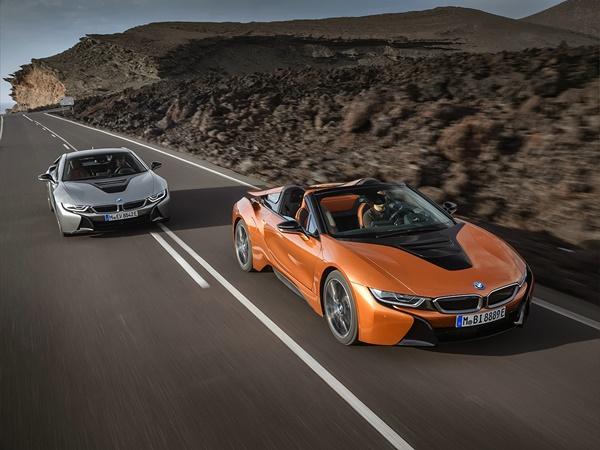 BMW i8-cabrio