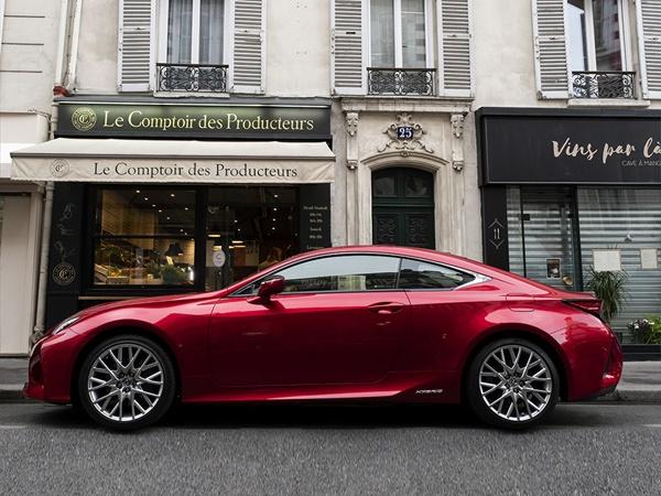 Lexus RC 300h hev luxury line 164kW cvt aut