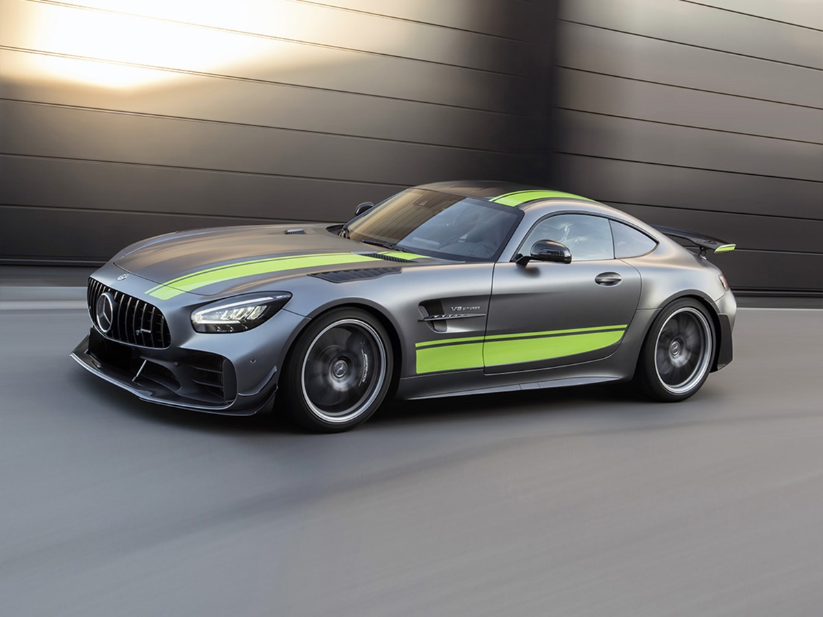 Mercedes-Benz AMG-GT Coupe 2d
