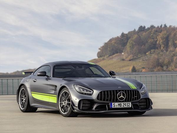 Mercedes AMG-GT Coupe 4.0 c 410kW speedshift dct aut
