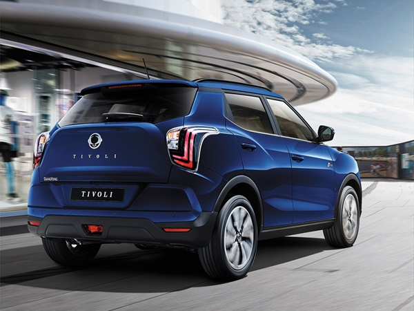 SsangYong Tivoli 16exdi crystal 2wd 100kW
