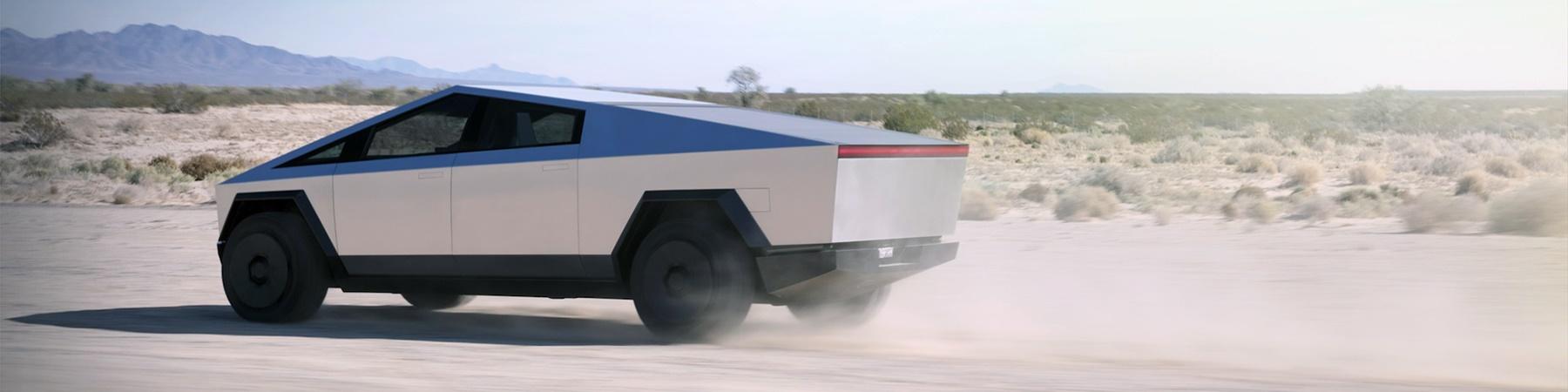 Tesla Cybertruck 100kWh 332 km actieradius