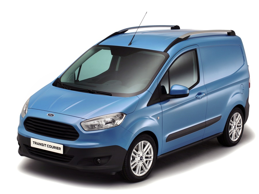 Ford Transit Courier Trend Euro6 55kW, Moondust Silver. Met 20% korting!